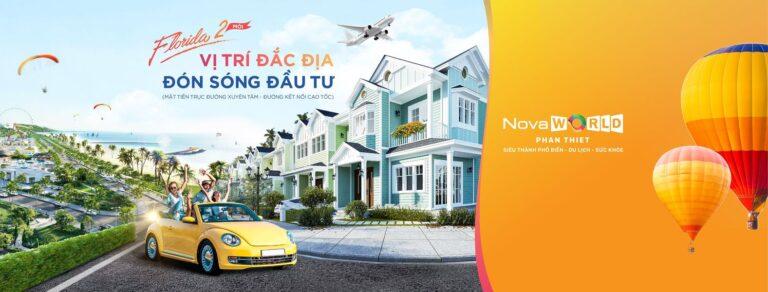 Tổ hợp du lịch nghỉ dưỡng giải trí NovaWorld Phan Thiet