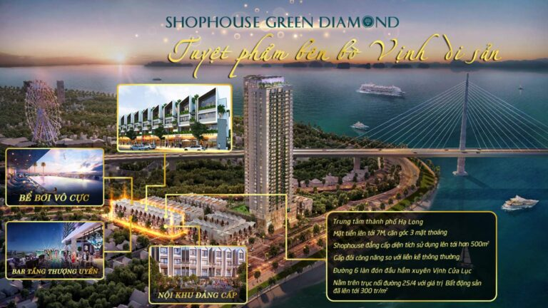 Shophouse Green Diamond Hạ Long