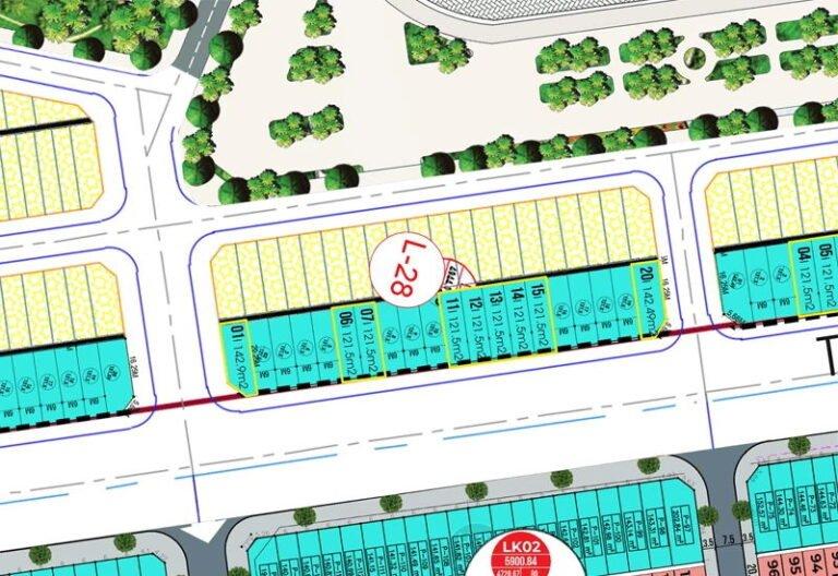 Bán LK28 Shophouse mặt đường 277