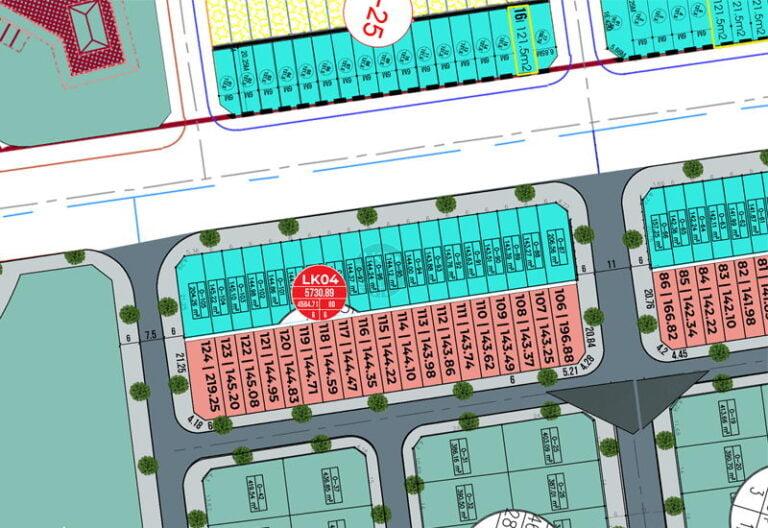 Shophouse LK04 mặt đường 277 Từ Sơn Garden City