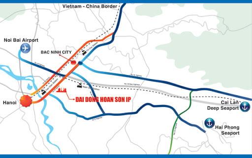 KCN Đại Đồng – Hoàn Sơn, Tỉnh Bắc Ninh
