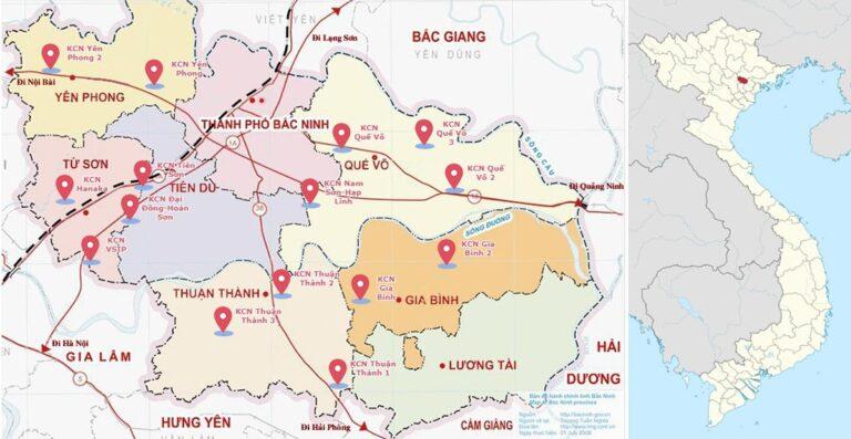 """Sức hút bền bỉ của """"thủ phủ công nghiệp FDI""""  Yên Phong"""