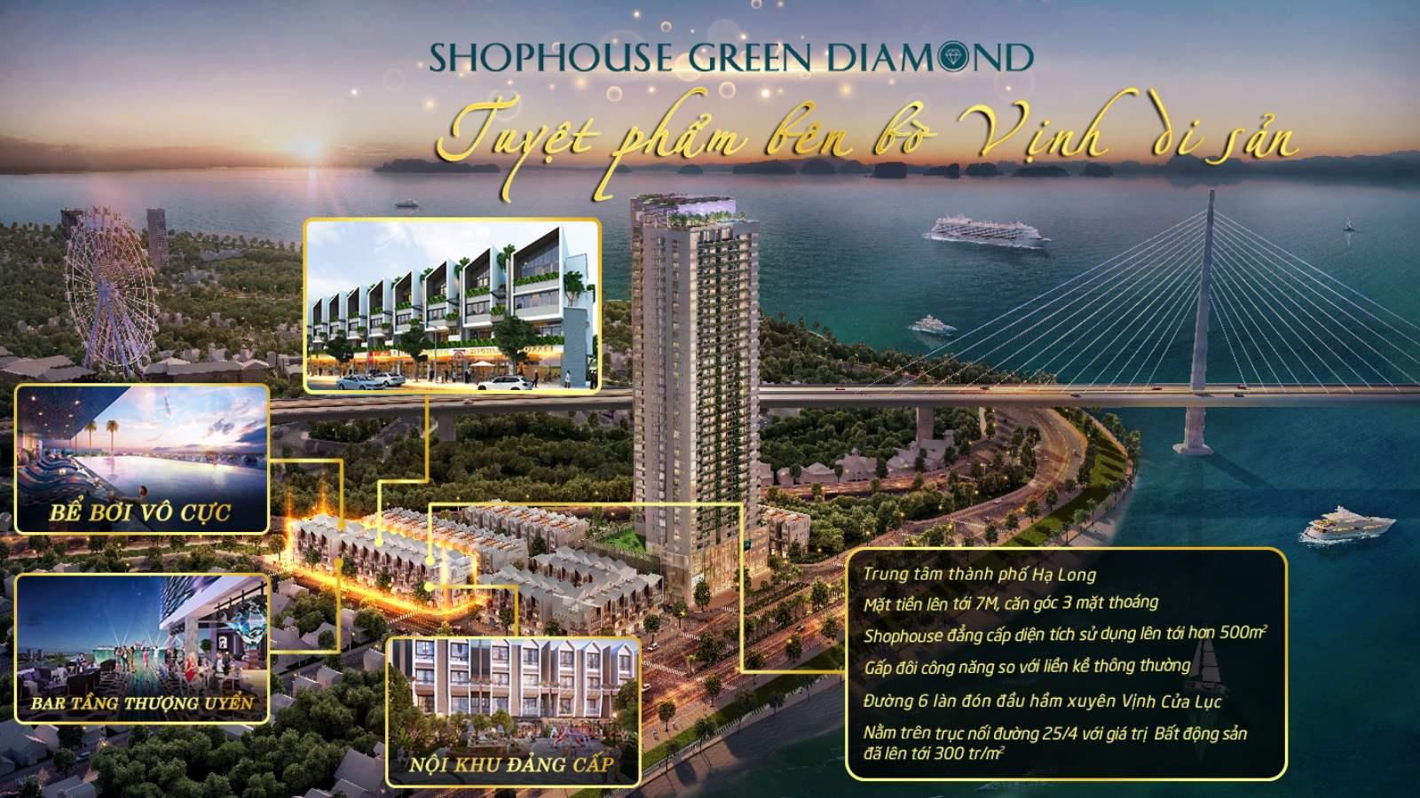 SHOPHOUSE GREEN DIAMOND HA LONG