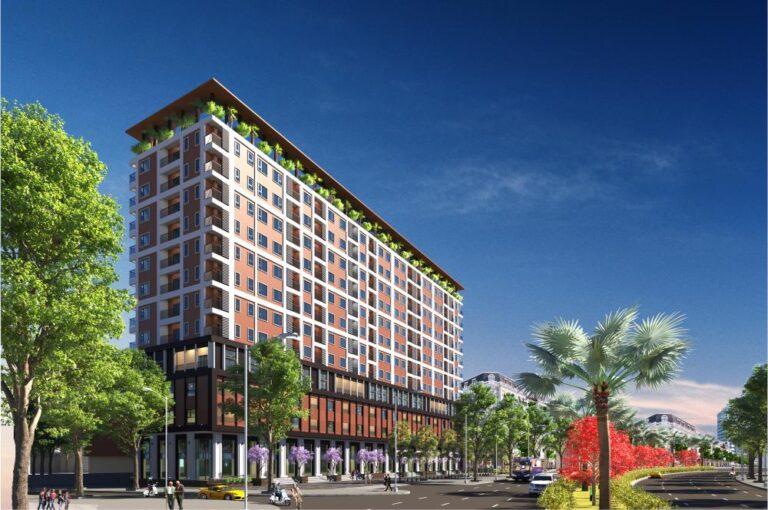 Nhà 19T1 thuộc Dự án xây dựng Nhà ở cho người thu nhập thấp tại phường Kiến Hưng