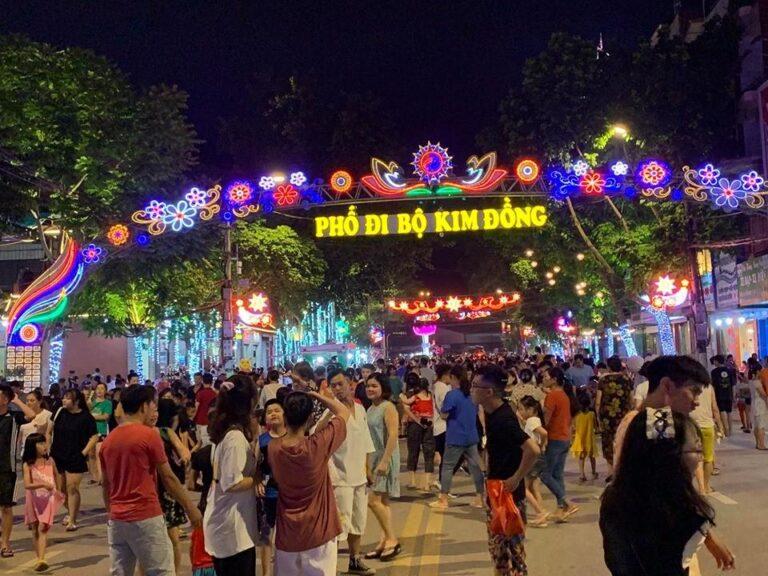 Du lịch tỉnh Cao Bằng, Bến Bằng Giang Phố đi bộ Kim Đồng