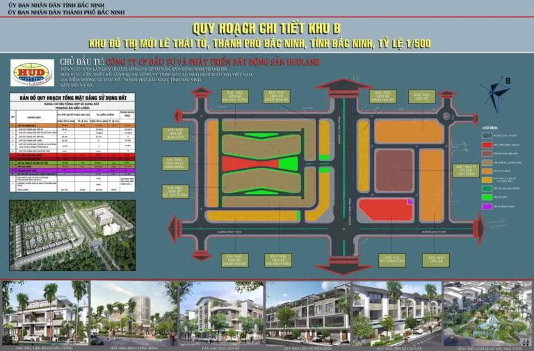 HUDLAND – Khu đô thị mới Lê Thái Tổ TP. Bắc Ninh