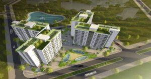 Nhà ở xã hội toàn nhà CT5, CT6 ô đất N04, khu đô thị mới Tứ Hiệp