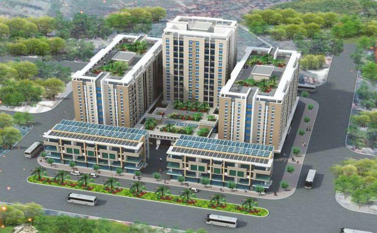 Khu nhà ở Xã hội tại ô đất CT3, CT4 Khu đô thị mới Kim Chung
