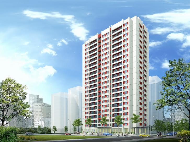 Nhà ở xã hội CT1-Khối A1&A2, CT2-TP, CT4-A1 Tây nam hồ Linh Đàm