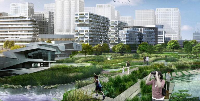 Khu nhà ở xã hội tại ô đất quy hoạch K-1 phường Phương Canh