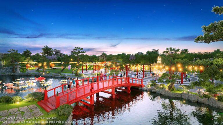 Tiện ích cảnh quan vườn Nhật VINHOMES SMART CITY