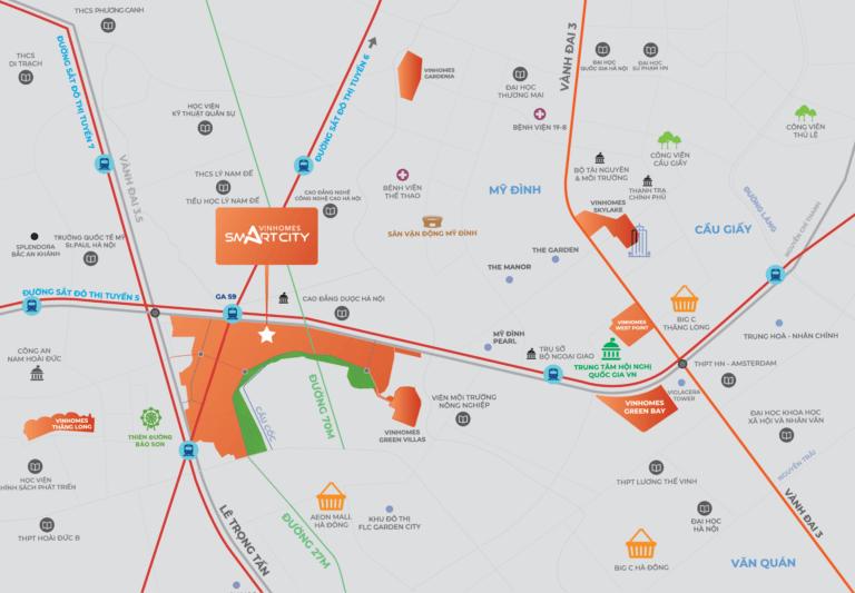 Vinhomes Smart City Phân khu Ruby