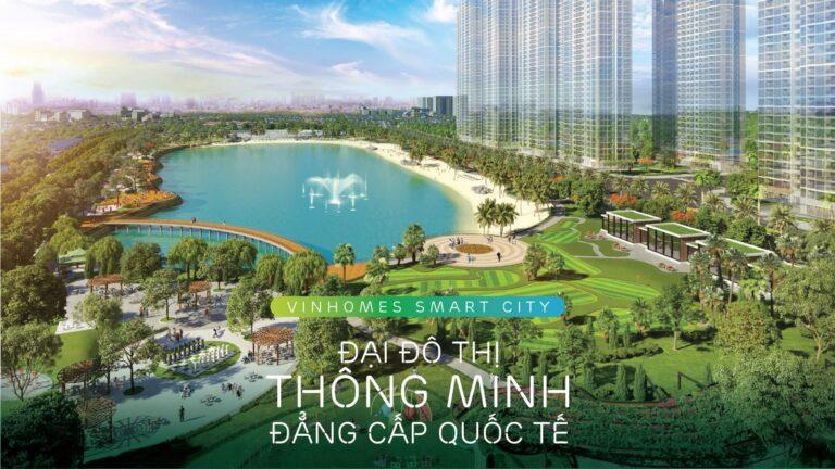 Vinhomes Smart City Nằm trên trên Đại lộ Thăng Long