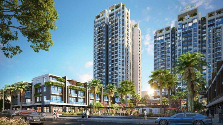 Chung cư – Shophouse thương mạiBách Việt Diamond Hill
