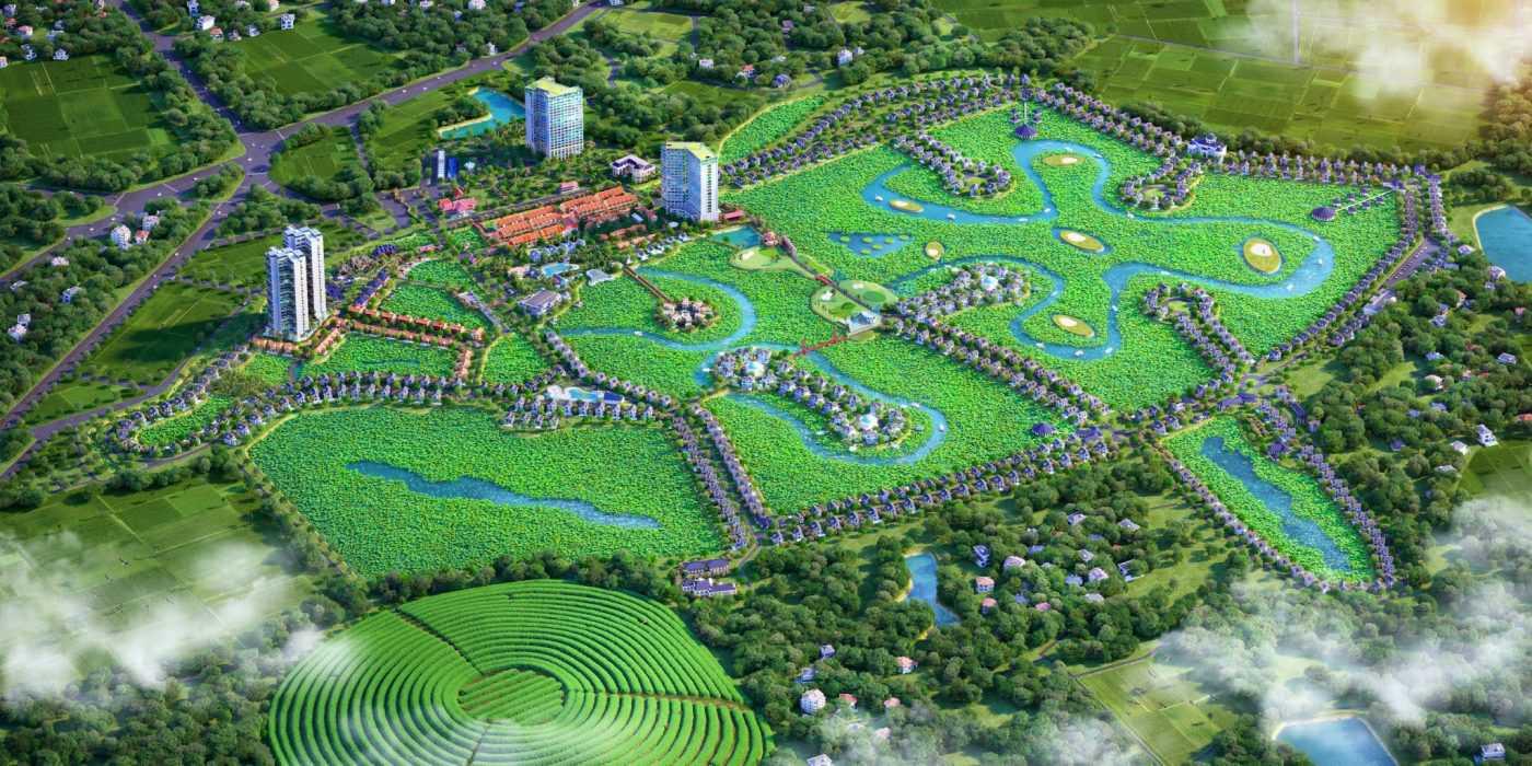 Dự án biệt thự nghỉ dưỡng Vườn Vua Resort Villas Thanh Thủy Phú Thọ