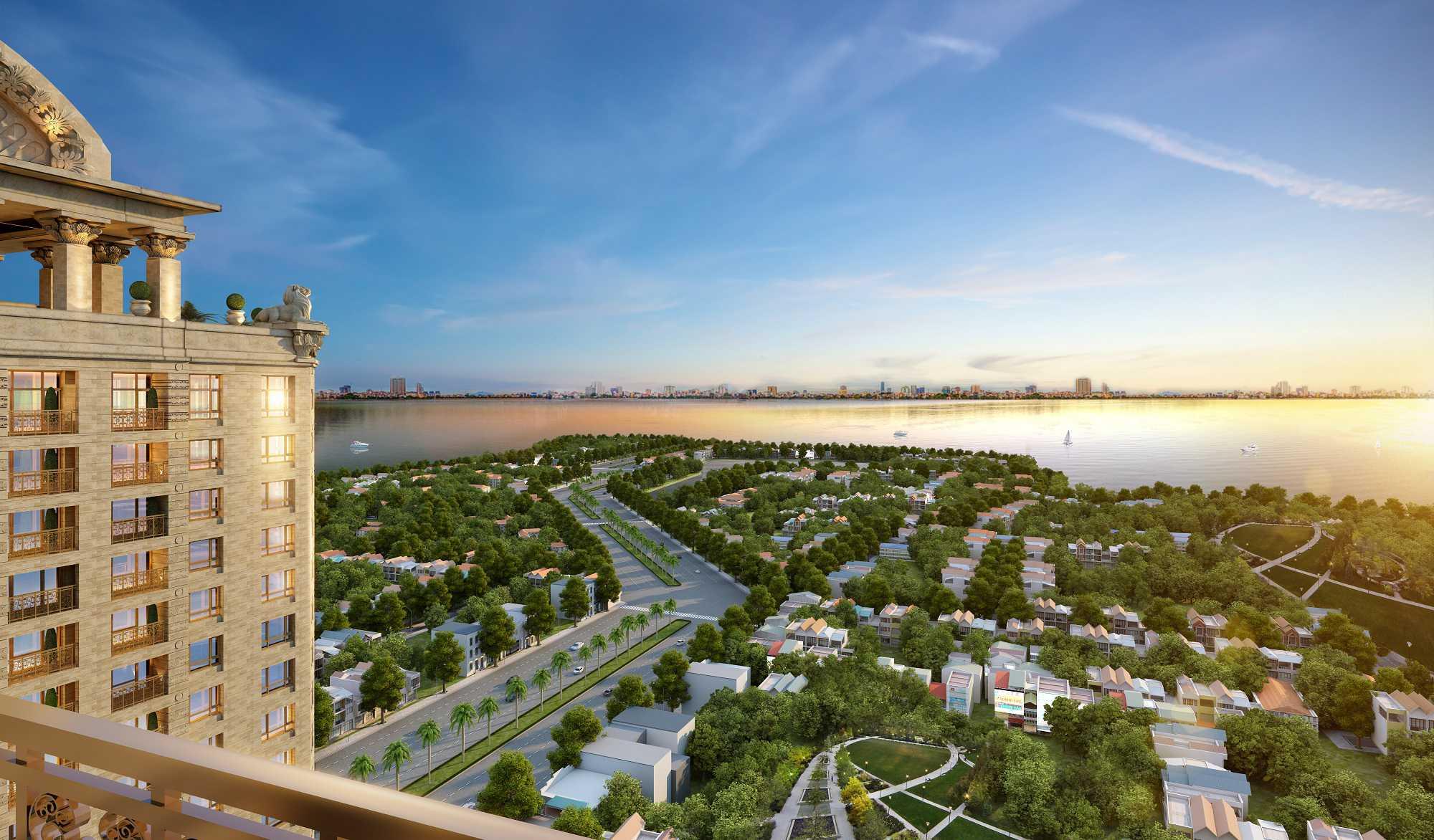 Tân Hoàng Minh - Dự án chung cư D' Le Roi Soleil Quảng An, Tây Hồ, Hà Nội