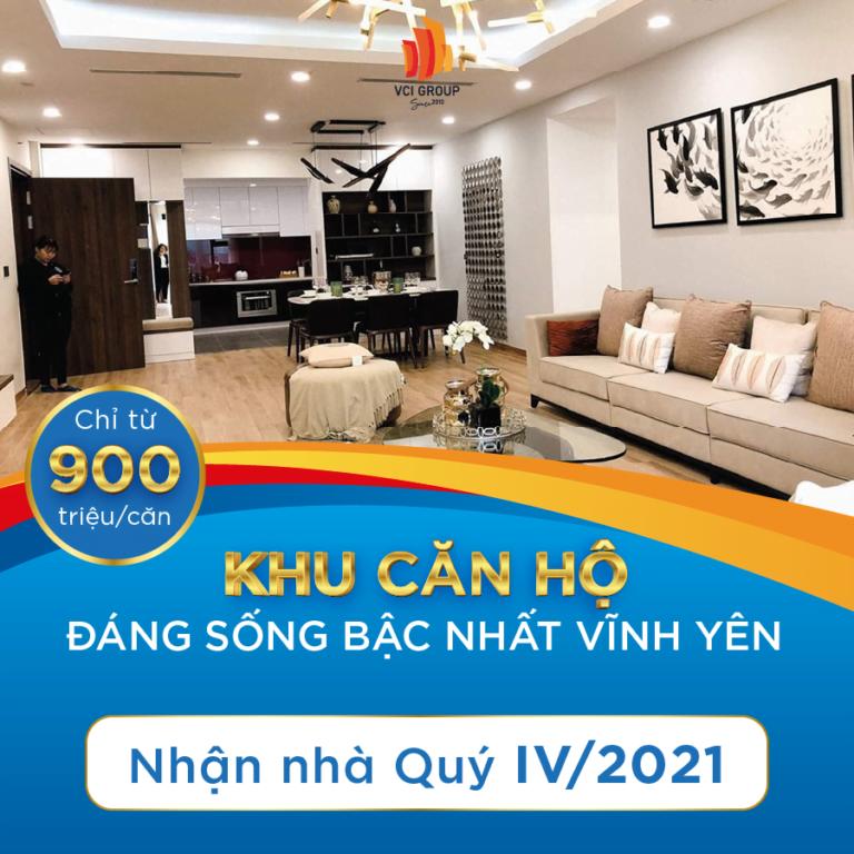 Chung cư VCI Tower Vĩnh Yên