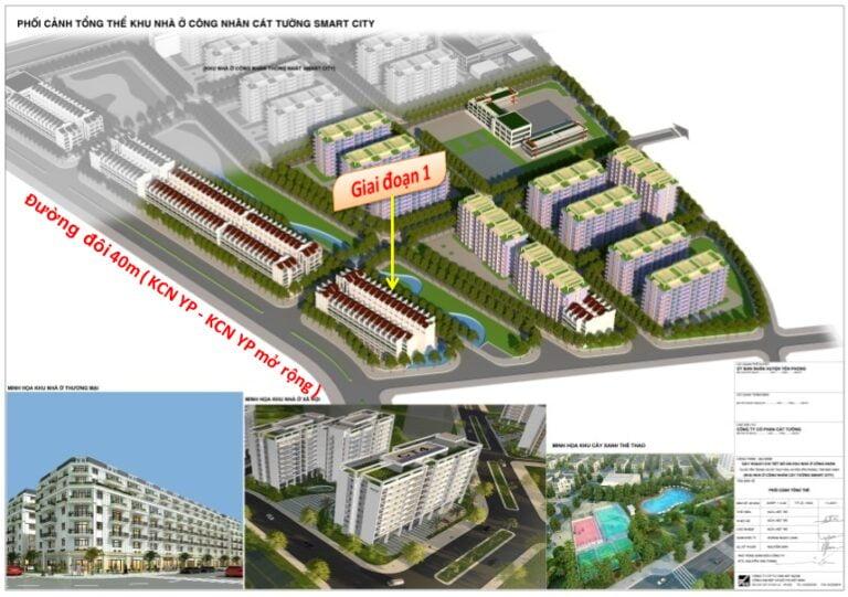 Dự án Cát Tường Smart City, Yên Phong, Bắc Ninh