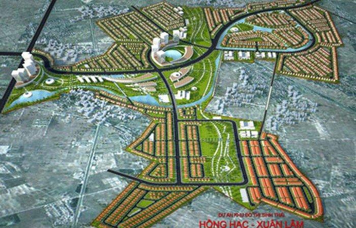 Dự án Khu đô thị sinh thái Hồng Hạc – Xuân Lâm