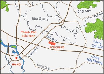 Khu công nghiệp Quế Võ – Bắc Ninh
