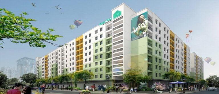 Nhà ở xã hội Bắc Kỳ, xã Yên Trung, huyện Yên Phong, tỉnh Bắc Ninh.