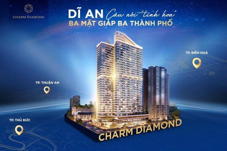 CHARM DIAMOND – BIỂU TƯỢNG TRUNG TÂM THÀNH PHỐ DĨ AN