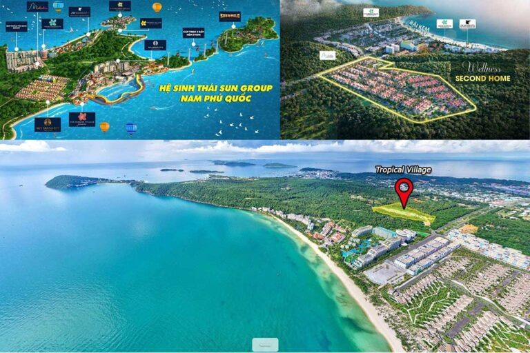 Dự án Sun Tropical Village, An Thới, Phú Quốc, Kiên Giang