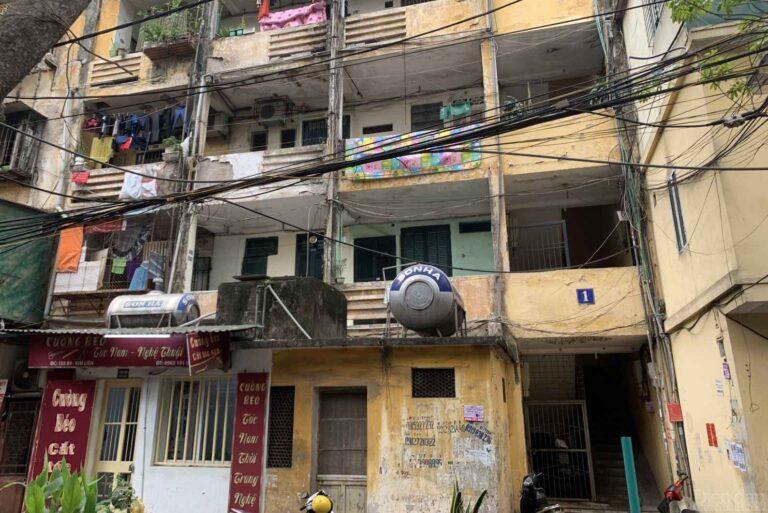Hà Nội sẽ cải tạo 10 khu chung cư cũ